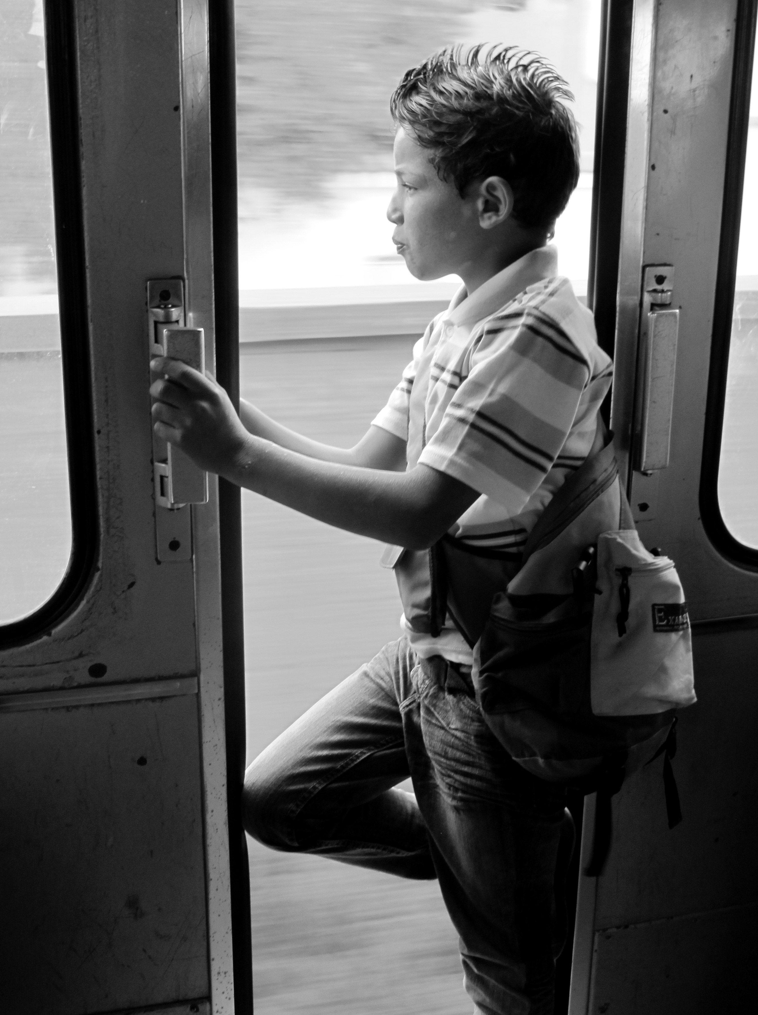 Train ride, Tunisian-style.