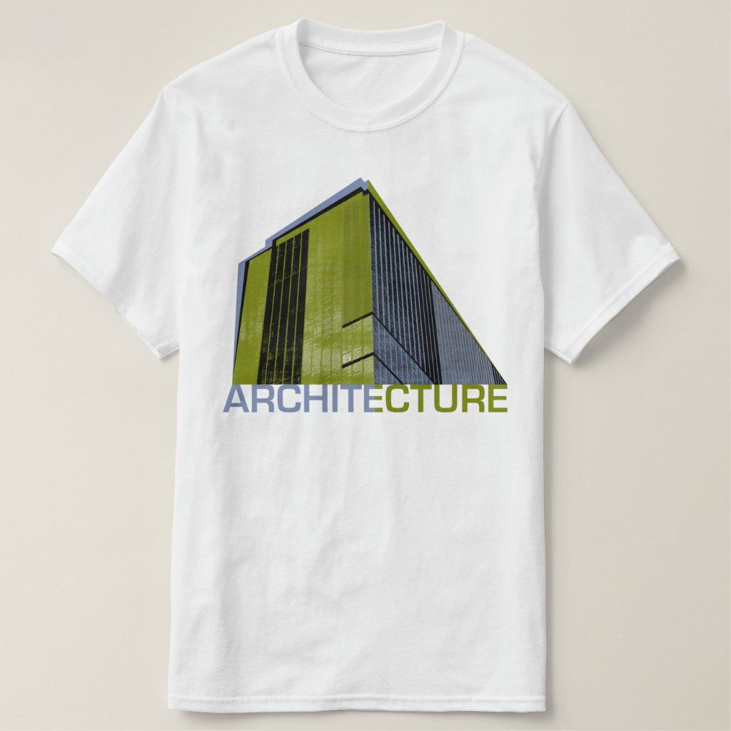 Architecture Graphic T-Shirt | Zazzle.com
