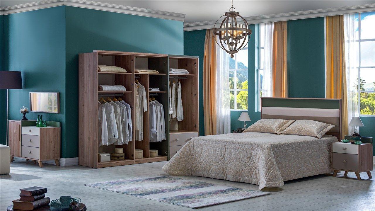 Oslo Yatak Odasi Takimi Bellona Mobilya Yatak Odasi Mobilya Takimlari Yatak Odasi Yatak Odasi Setleri