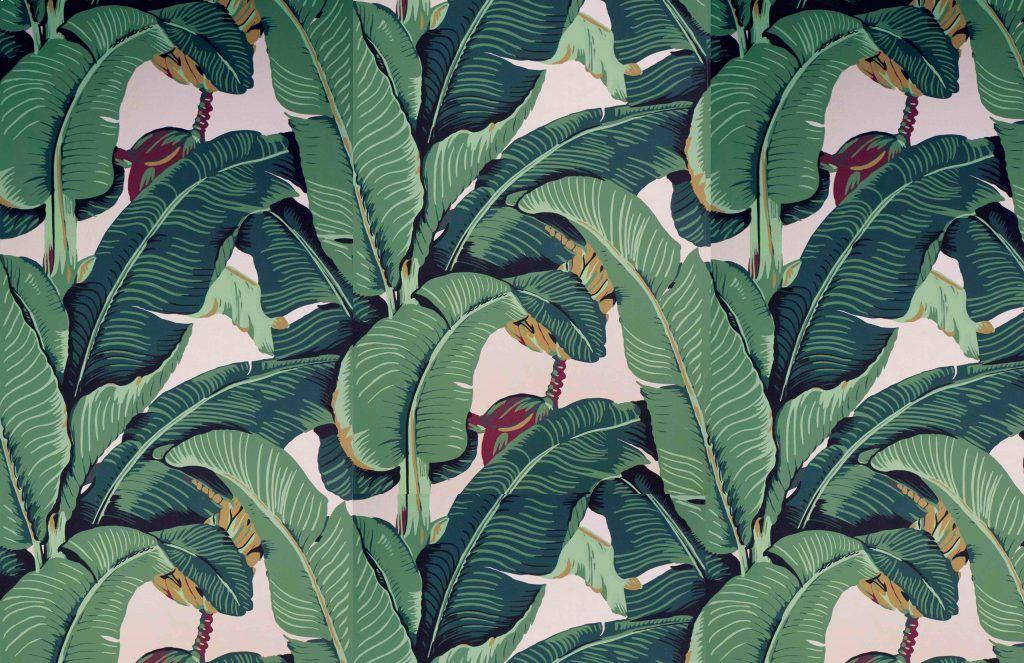 Martinique Beverly Hills Wallpaper Palm leaf wallpaper