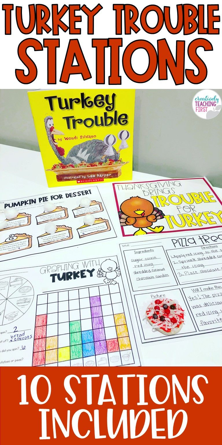 Turkey Trouble Stations Turkey trouble, Graphing