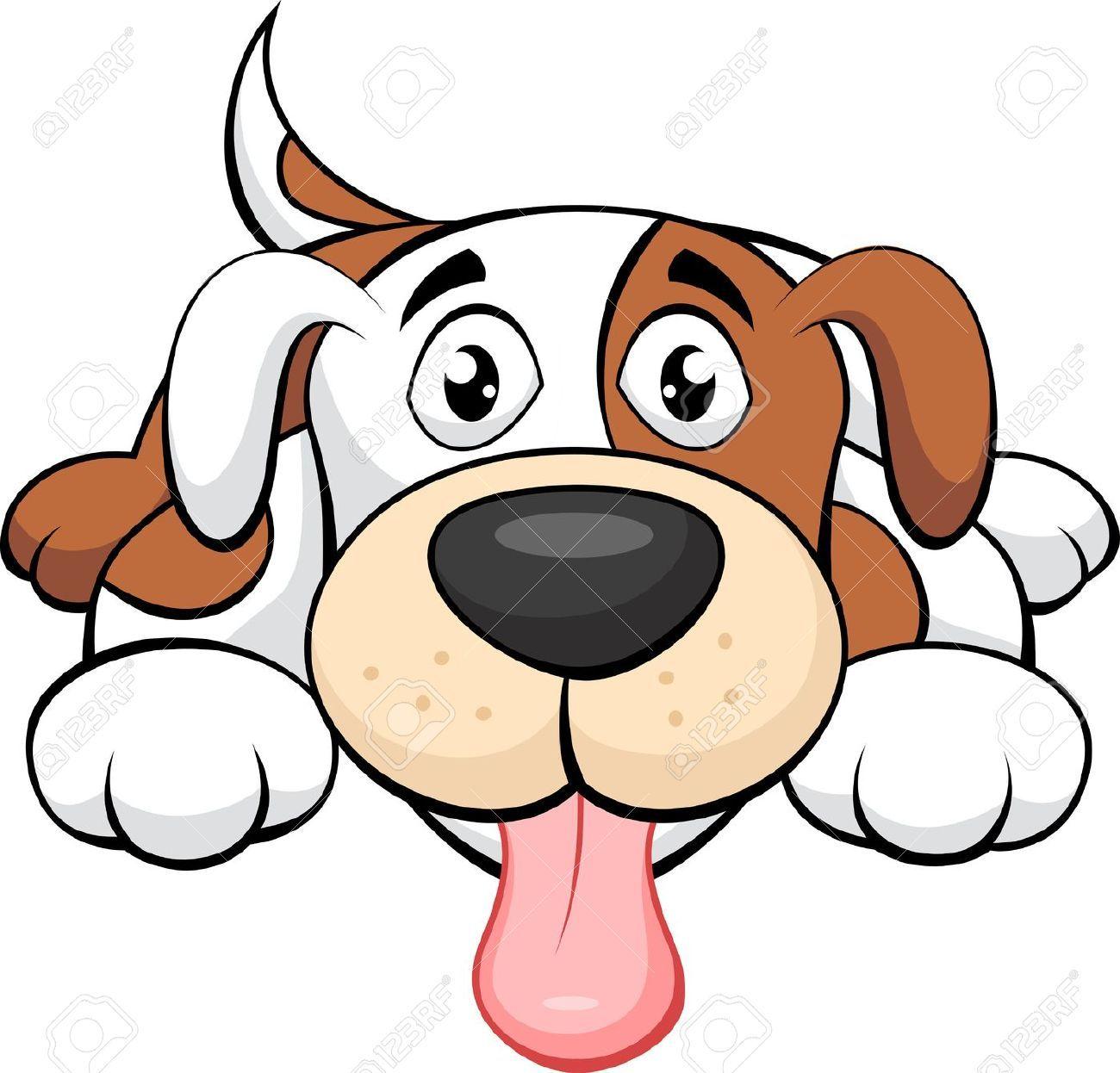 Cute Cartoon Dogs Clip Art Cartoon Dog Animai Images Dog Cartoon