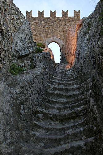 Sperlinga Castle ruin in the Enna province, Siciliy, Italy.