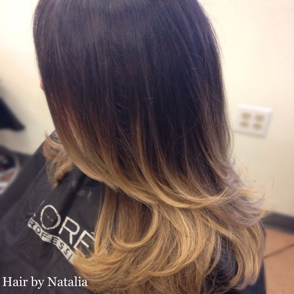 Balayage Ombre Hair Color For Brunettes Hairbynatalia 720