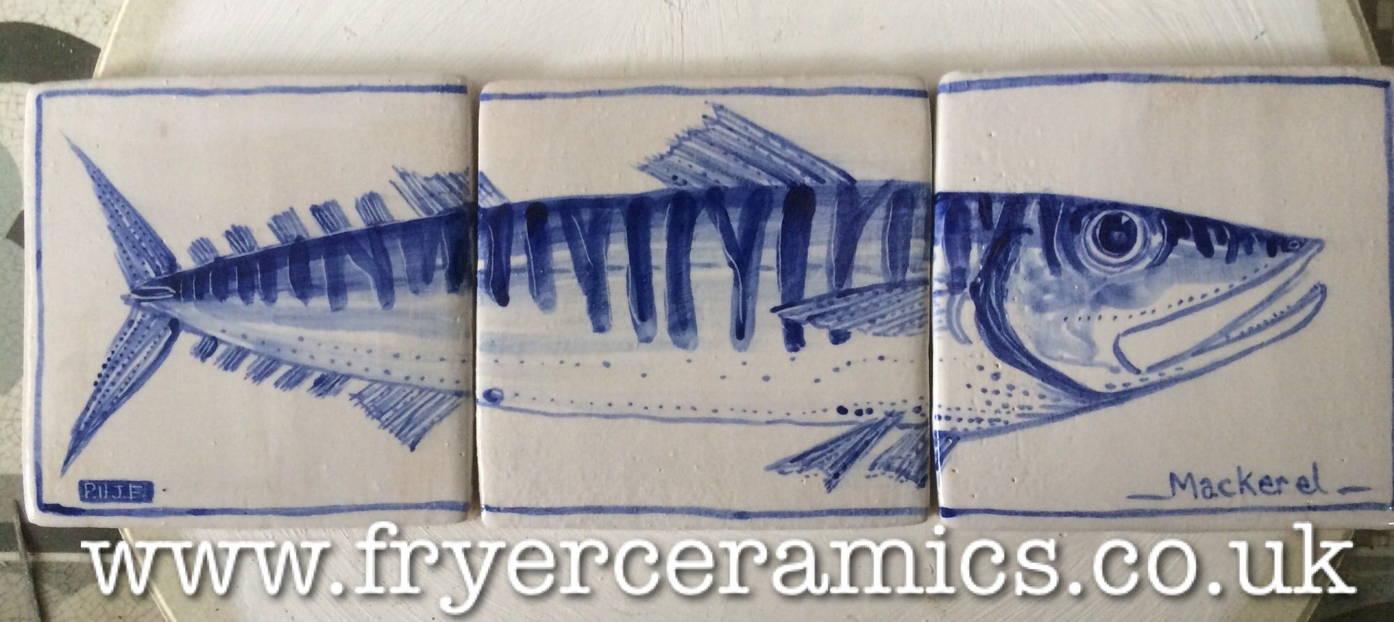 Küche Fliesen Delft Delft Inspired Kitchen Tiles For Fish Lovers Blue And White