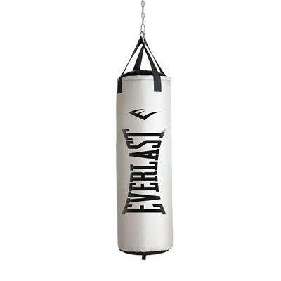 Everlast Nevatear Fitness Workout 60 Pound Heavy Boxing Punching Bag, Platinum,  #babysittingbag #ba...