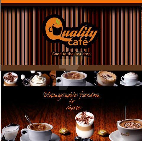 Brosur Kafe Kopi Pilihan Desain Bagus Brosur Kopi Pinterest - coffee shop brochure template