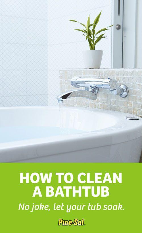 How To Clean A Bathtub Clean Bathtub Bathtub Cleaning