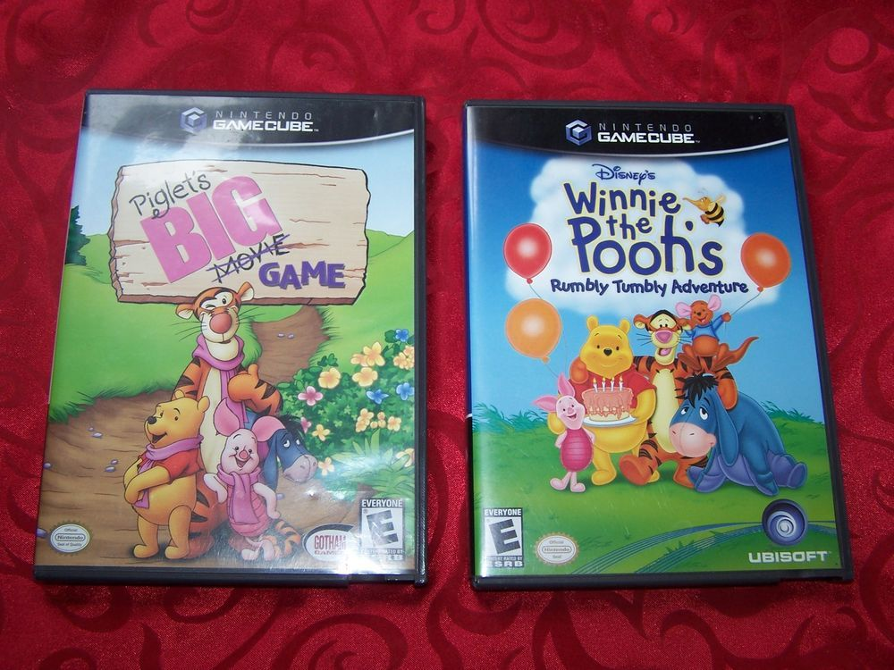 Winnie The Pooh S Rumbly Tumbly Adventure Piglet S Big Game Nintendo Gamecube Gamecube Winnie Winnie The Pooh