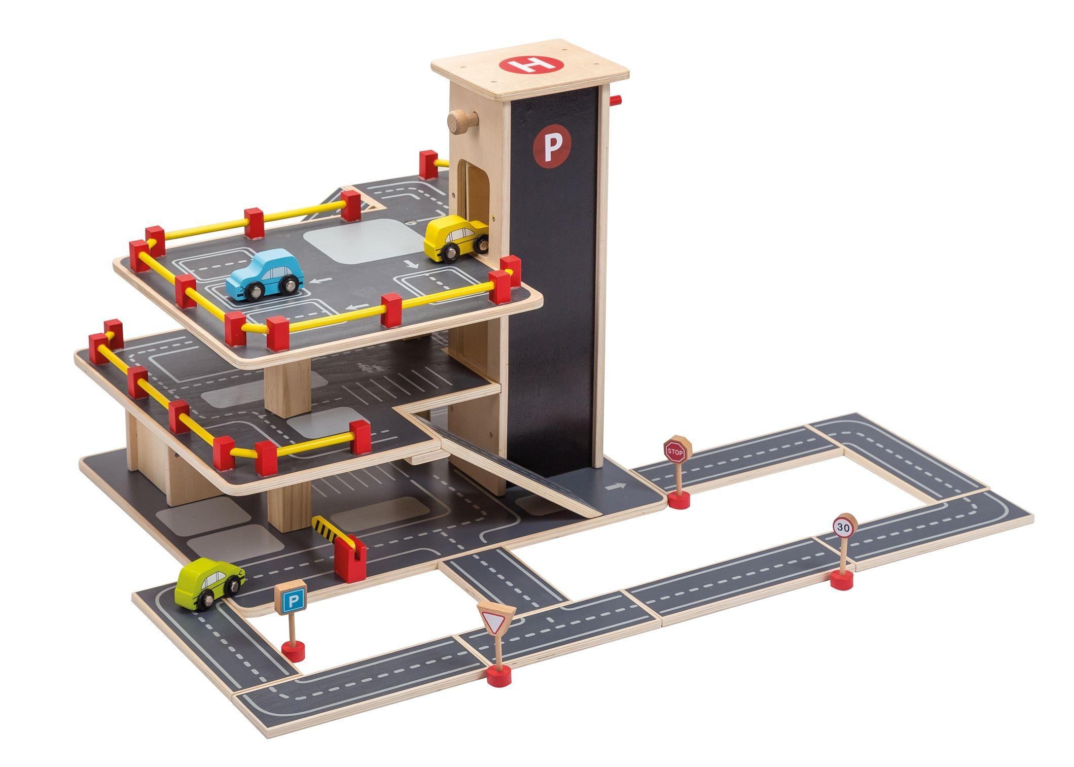 Houten Garage Speelgoed : Leuke stevige houten garage speelgoed toys wood woodentoys