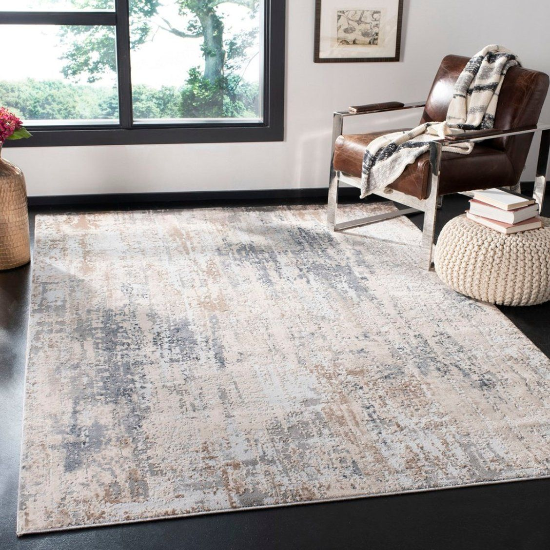 The Invista Rug Collection Adds High Touch Textures To Fascinating Abstract Imagery In Creating These Dazzling Floor Cove Contemporary Rug Rugs Classic Carpets