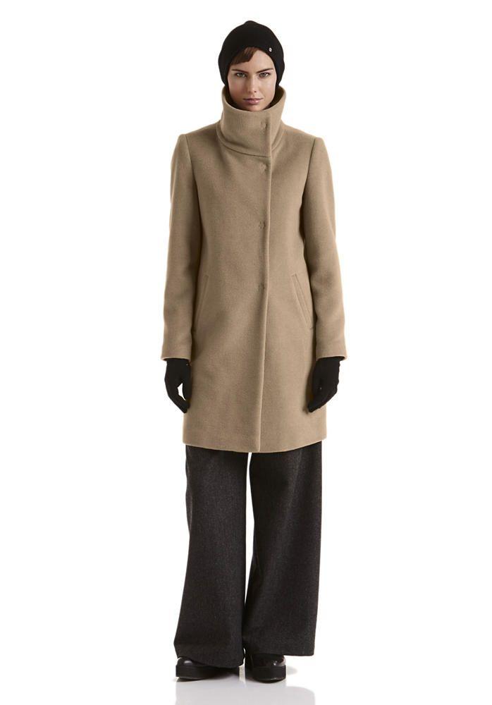 Damen Kamelhaar-Mantel