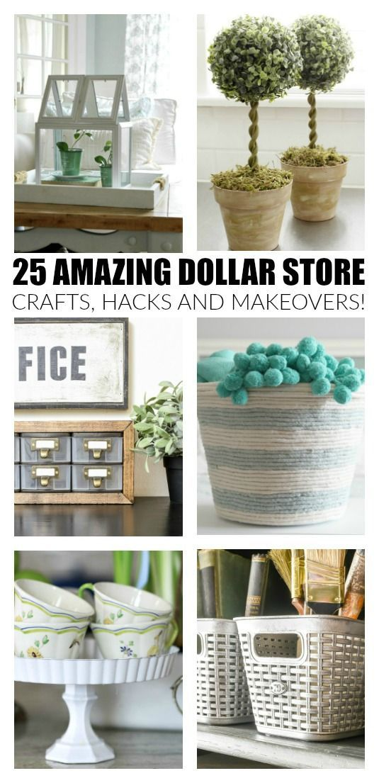 3 Easy Diy Storage Ideas For Small Kitchen: 25 Of The Best Dollar Store Crafts And Makeovers Ever