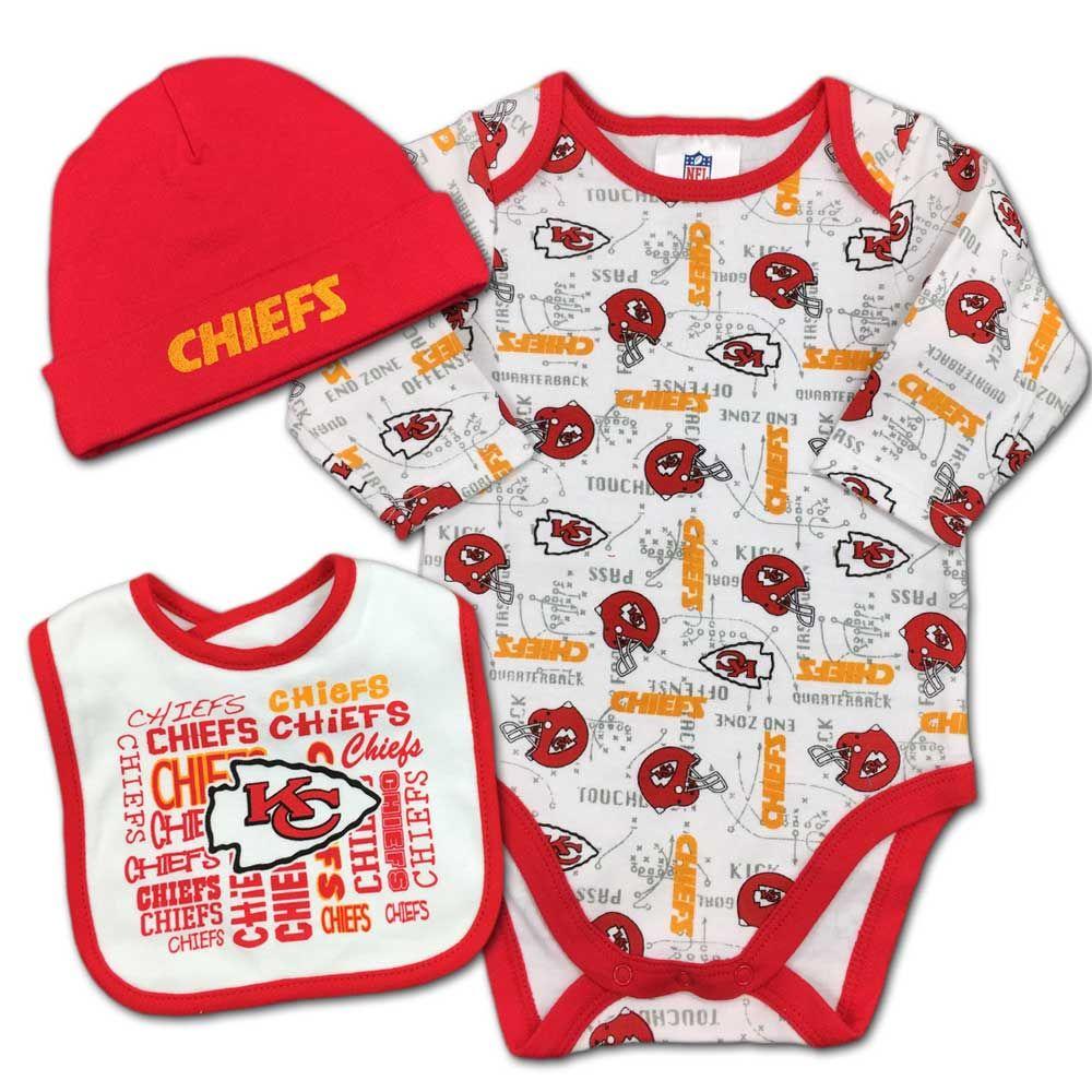 13e8c23253f Kansas City Chiefs Baby Team Spirit Creeper