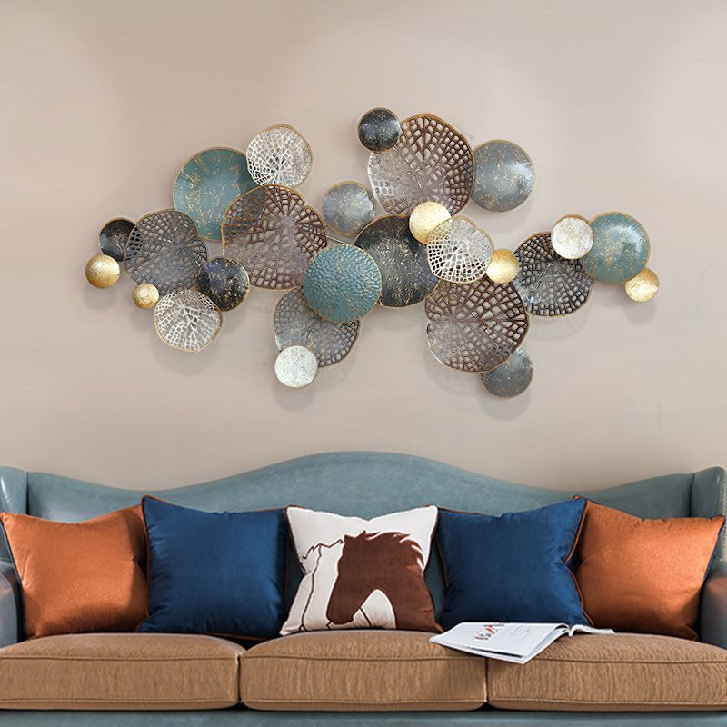 Buy Nordic Style Wall Hangings Creative Iron Wall Decoration Three