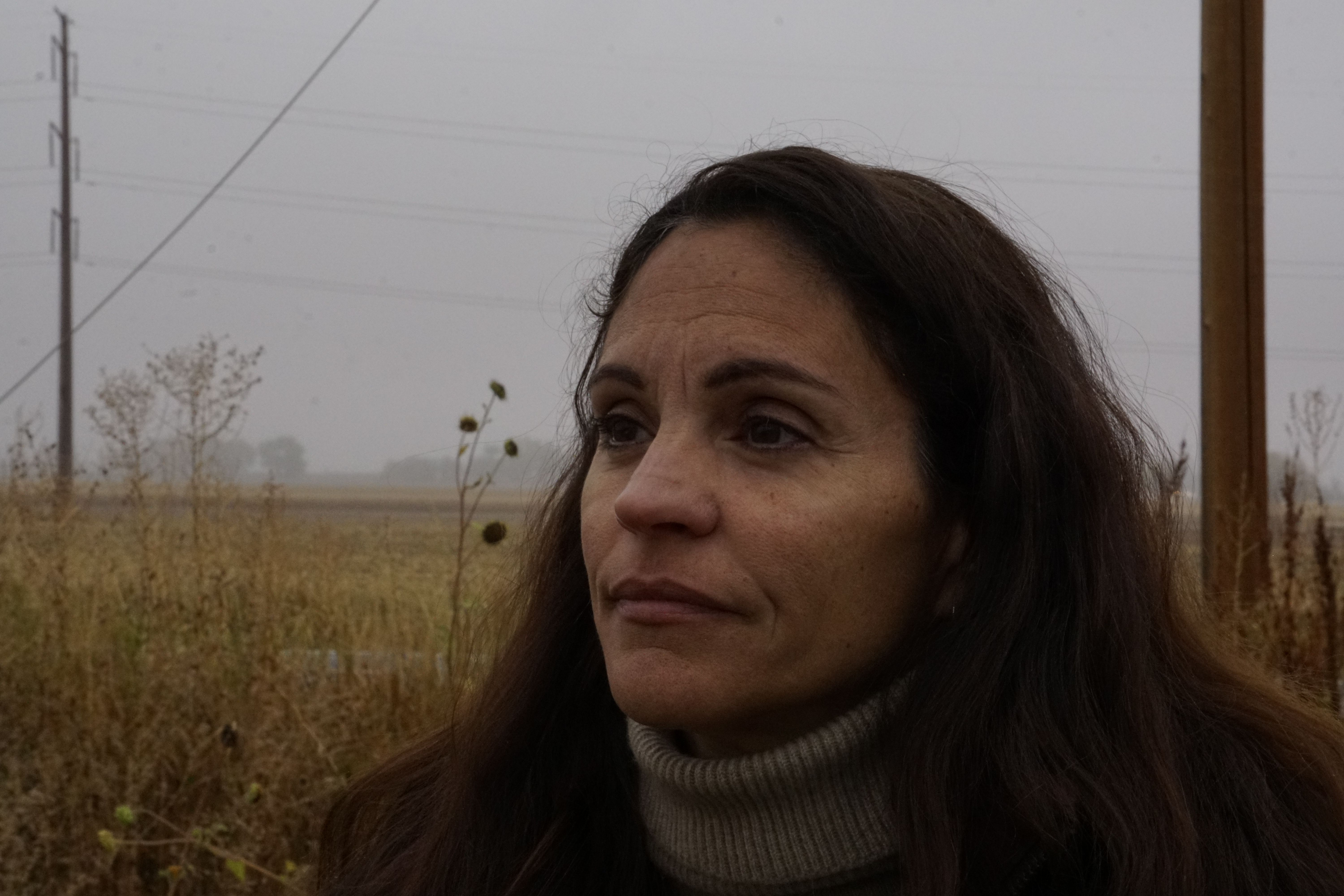 I love this photo because I think that it captures my moms beauty. I love the colors of the background and how they look wither hair.I love the color balance in this photo and the fog in the background. Photo of the week number six