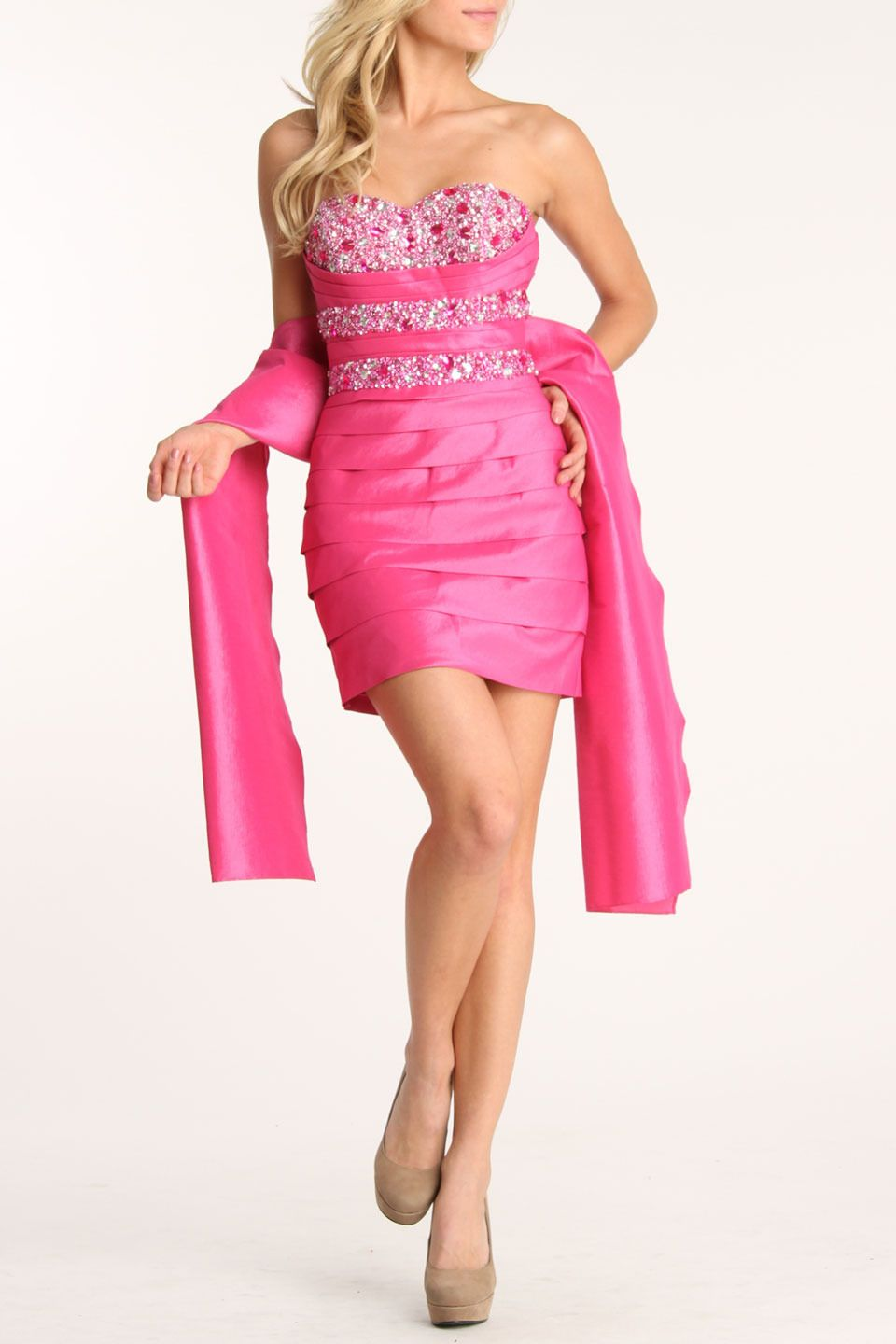 Colors Dress Deborah Dress In Hot Pink - Beyond the Rack | Fashion ...