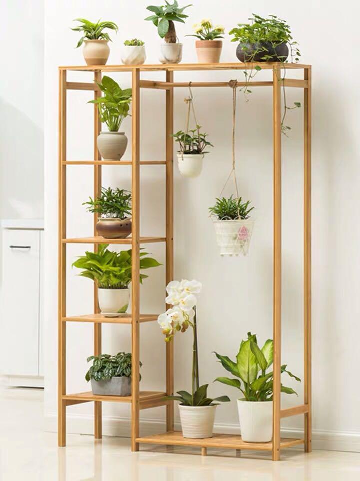 Plant Rack Hanger Shelf In
