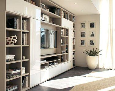 mobililibrerie, mobili librerie, librerie moderne, librerie ...