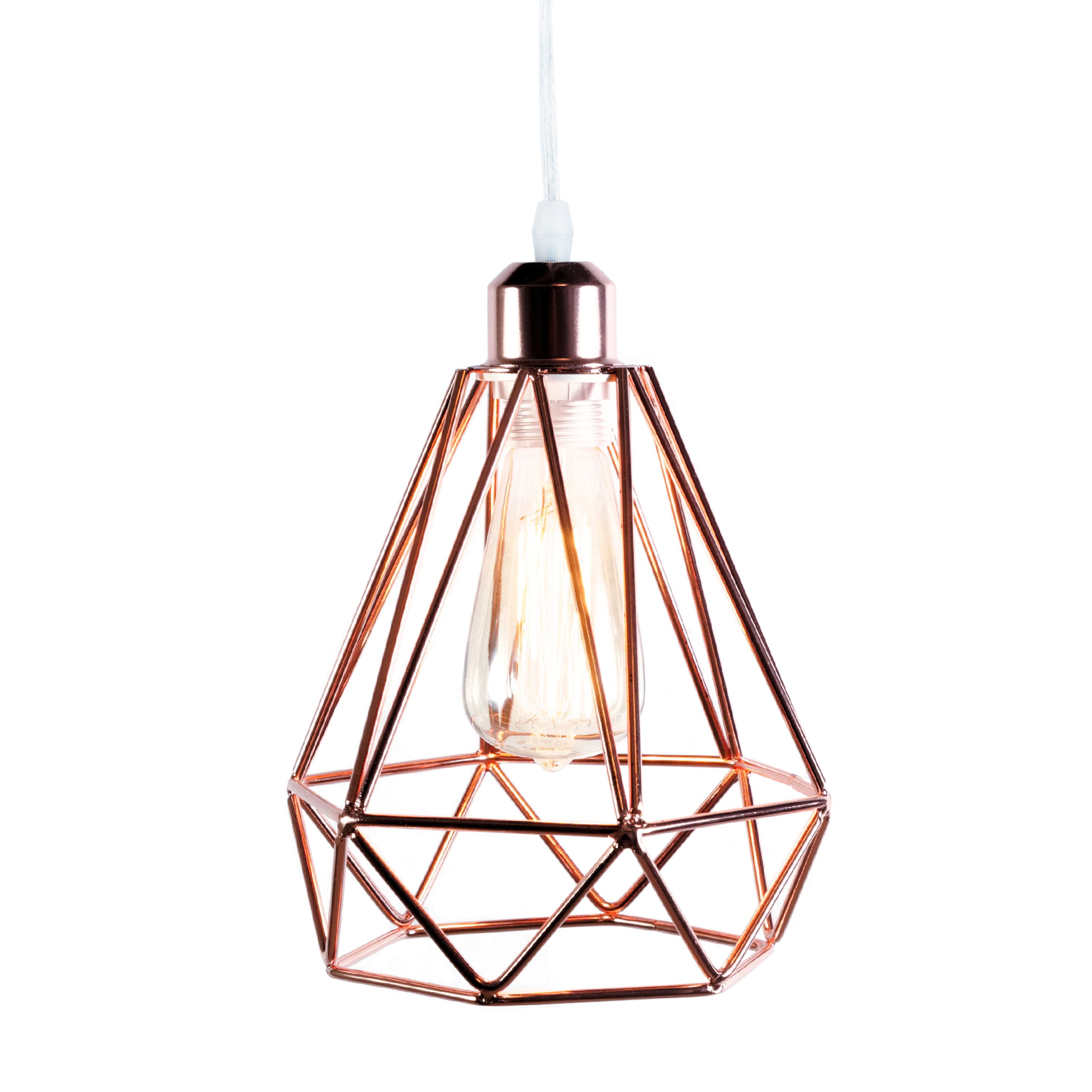 gold products ceiling lamp froy prism rose