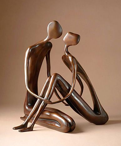 From The Devorzon Gallery Purchase John Kennedy By Clicking Here The Works Of Sculptor John Kennedy Elegan Couple Sculpture Sculpture Artist Sculpture Art