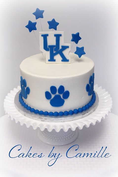 Fabulous University Of Kentucky Uk Wildcat Cake Grooms Cake 19Th Personalised Birthday Cards Xaembasilily Jamesorg