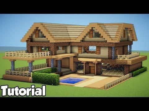 Youtube Decorativeaccents Maisons Minecraft Faciles Maison Minecraft Batiments Minecraft
