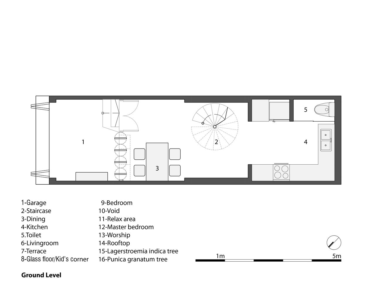 Gallery Of 3x10 House Ahl Architects Associates 21 Narrow House Plans Architect Narrow House