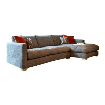 Dfs Metro Sofa Bed Small Single Fontella - Large Chaise (right Hand)   Corner Sofas ...