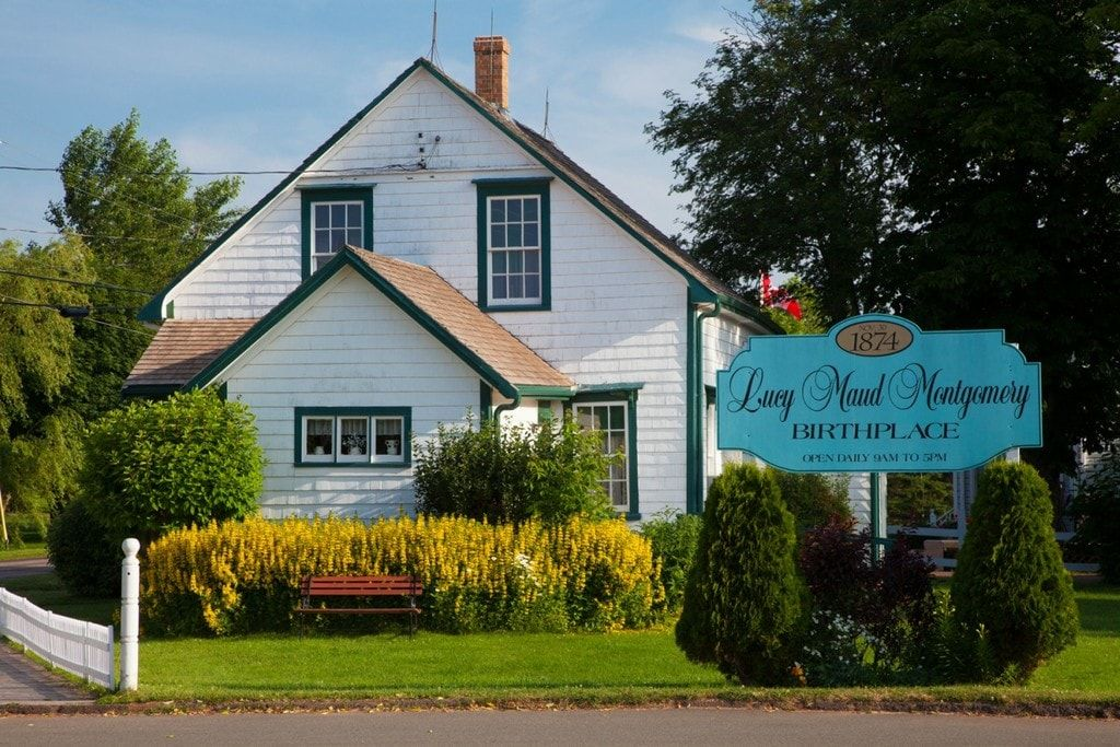 Lucy Maud Montgomery Birthplace | Canada tour, Green gables, Anne of green  gables