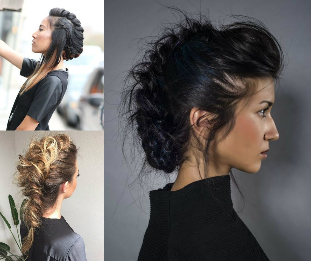 Expressive women braided mohawk hairstyles hair inspiration