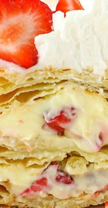 Strawberry Napoleons | Easy Strawberry Dessert Recipe