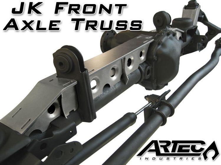 Done Artec Industries Jk Front Axle Truss Jeep Jk Parts Axle