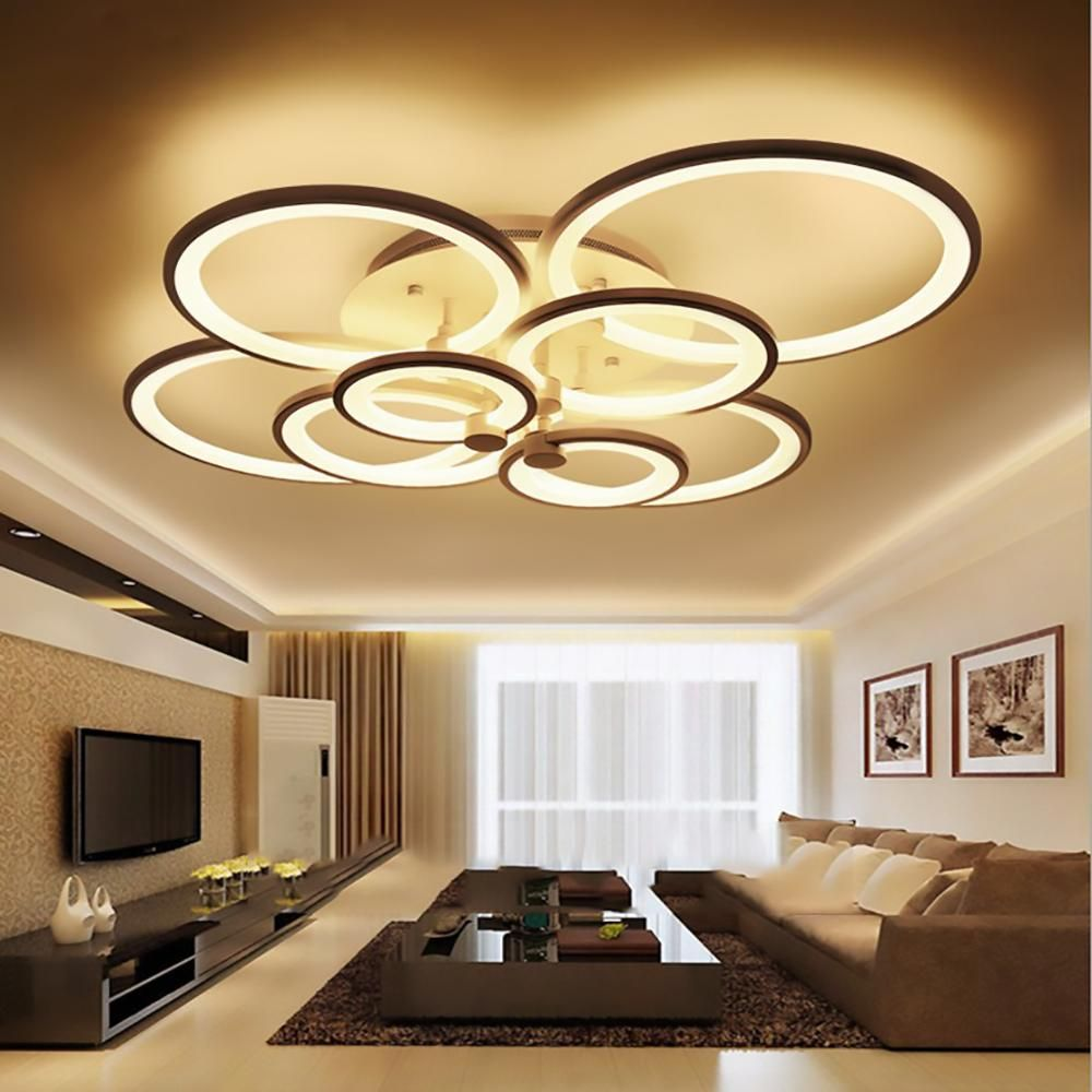 Modern New Acrylic Modern Led Ceiling Lights For Living Room