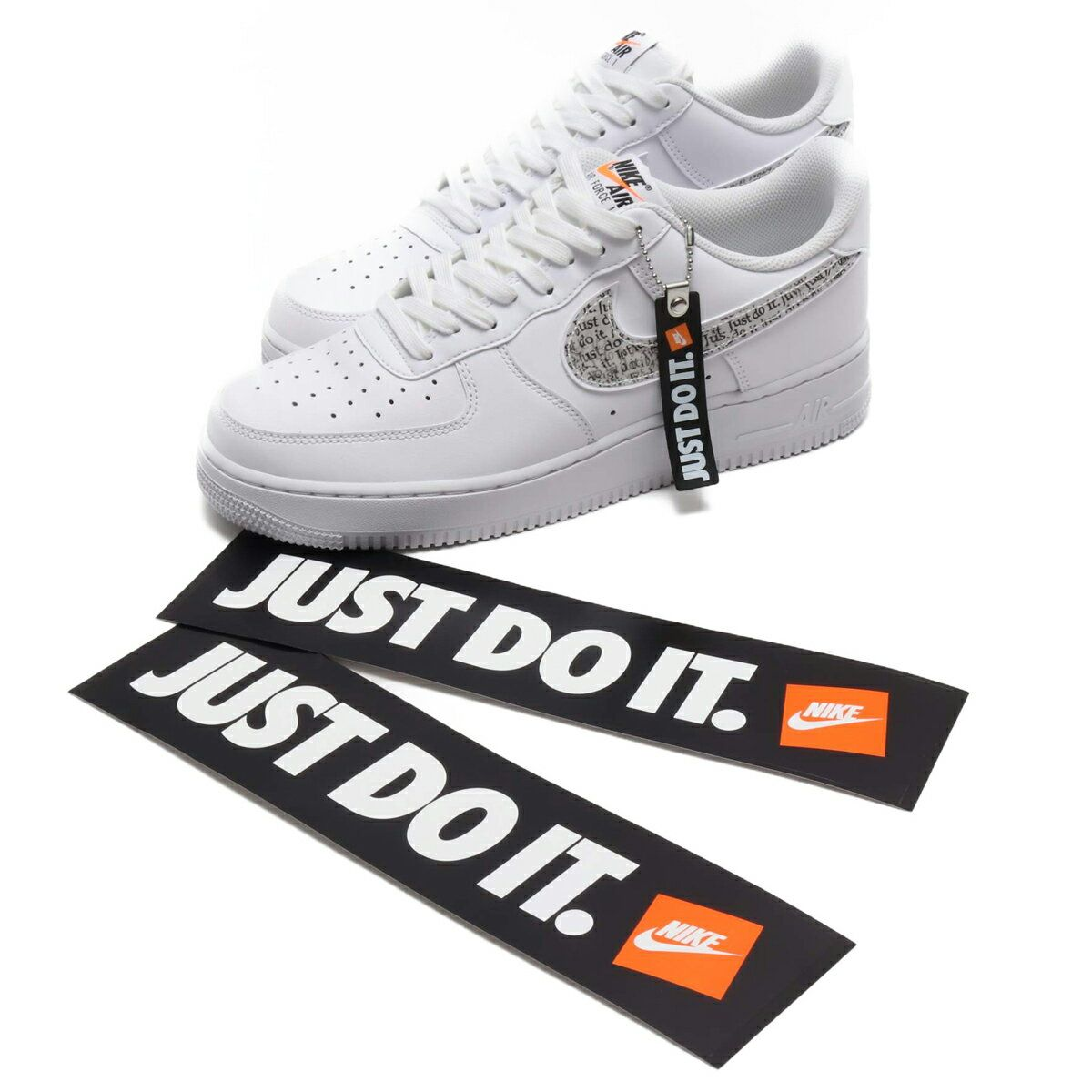 楽天 Nike Air Force 1 07 Lv8 Jdi Lntc ナイキ エア フォース 07 Lntc White White Black Total Orange 18fa Iの売れ筋人気ランキング商品 Sneakers Nike Nike Air Force