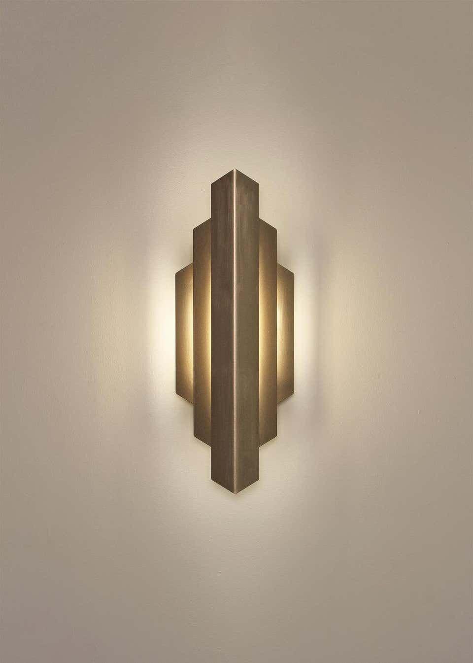 Single Gold Wall Lamp Eichholtz Claridges In 2021 Art Deco Wall Lights Wall Lamp Art Deco Lamps