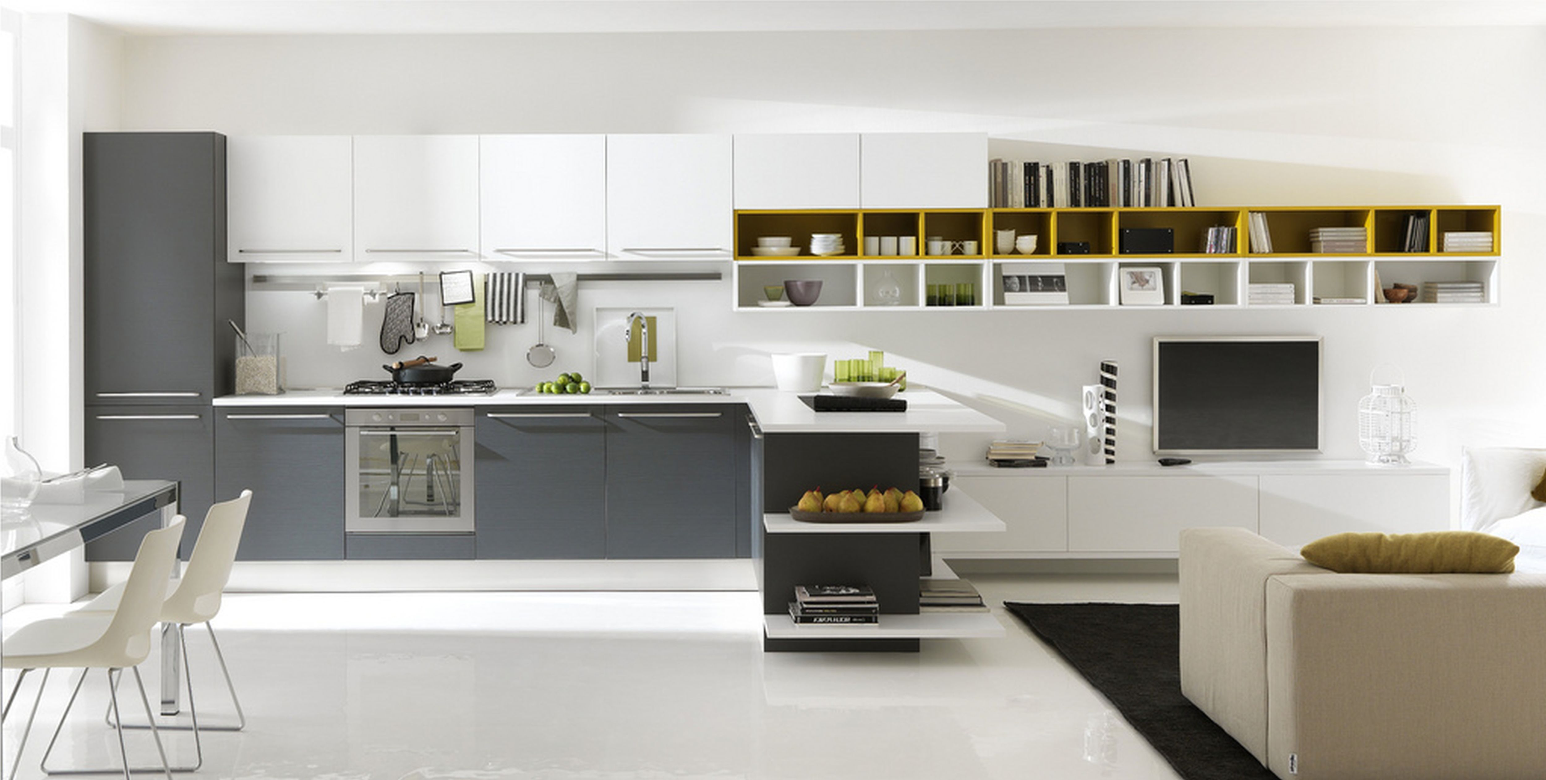 Image result for l shaped small apartment kitchen ideas on a budget ...