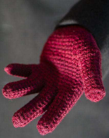 Knitted Gloves Pattern By Franklin Habit Free Via Knitty Eunys