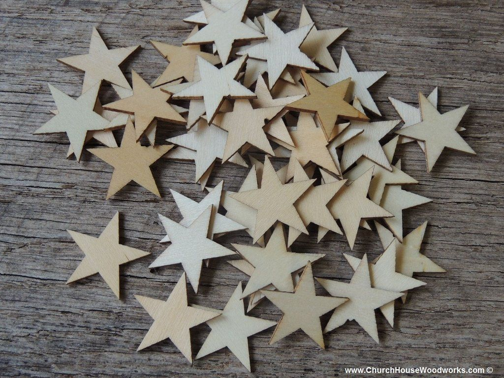 Small Wood Stars In One Inch Size For Christmas Crafts Flag Crafts Diy Woodstars Woodstarsforflags Stars Wood Flagmaking Flags Woodenstars Wooden