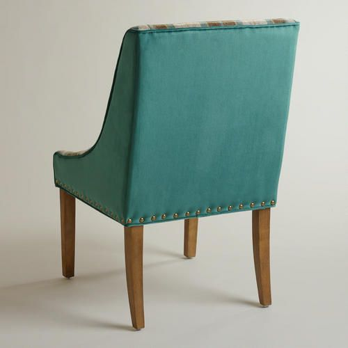 Plaid and Teal Green Wes Dining Chair- haven't seen in ...