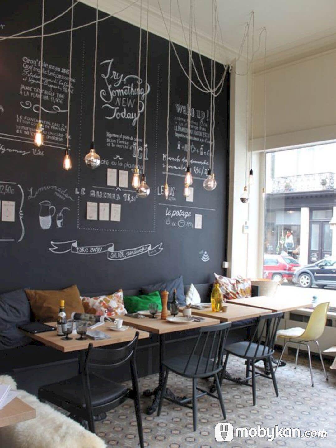 تصميمات ديكورات كافيهات مبتكرة تخطف الانظار Cafe Interior Design