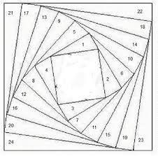verdrehte Blockhaus - Google-Suche #paperpatterns