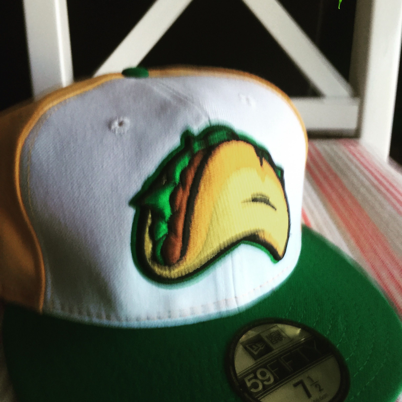 cb66434af Fresno Grizzlies Taco Tuesdays hat | Minor League Baseball Hats ...