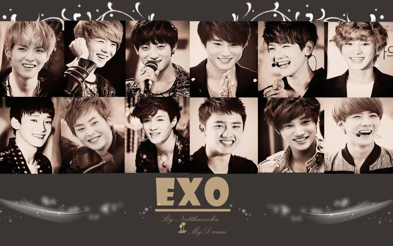 New Exo Wallpaper Hd Desktop Laptop 2016 2017 Best Cool Exo Wallpaper Hd Bts Wallpaper Desktop Exo