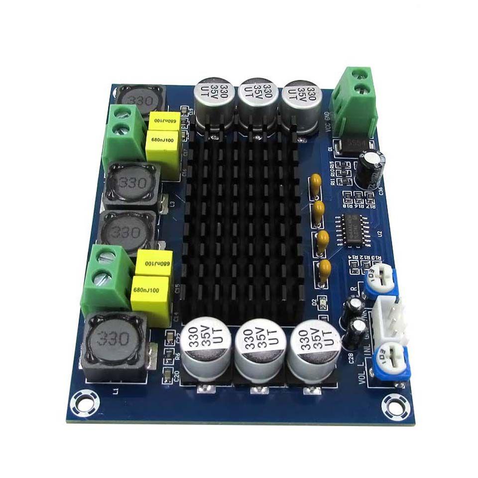DC 12V-24V  Digital Stereo Bluetooth Dual Channel Audio Power Amplifier Board