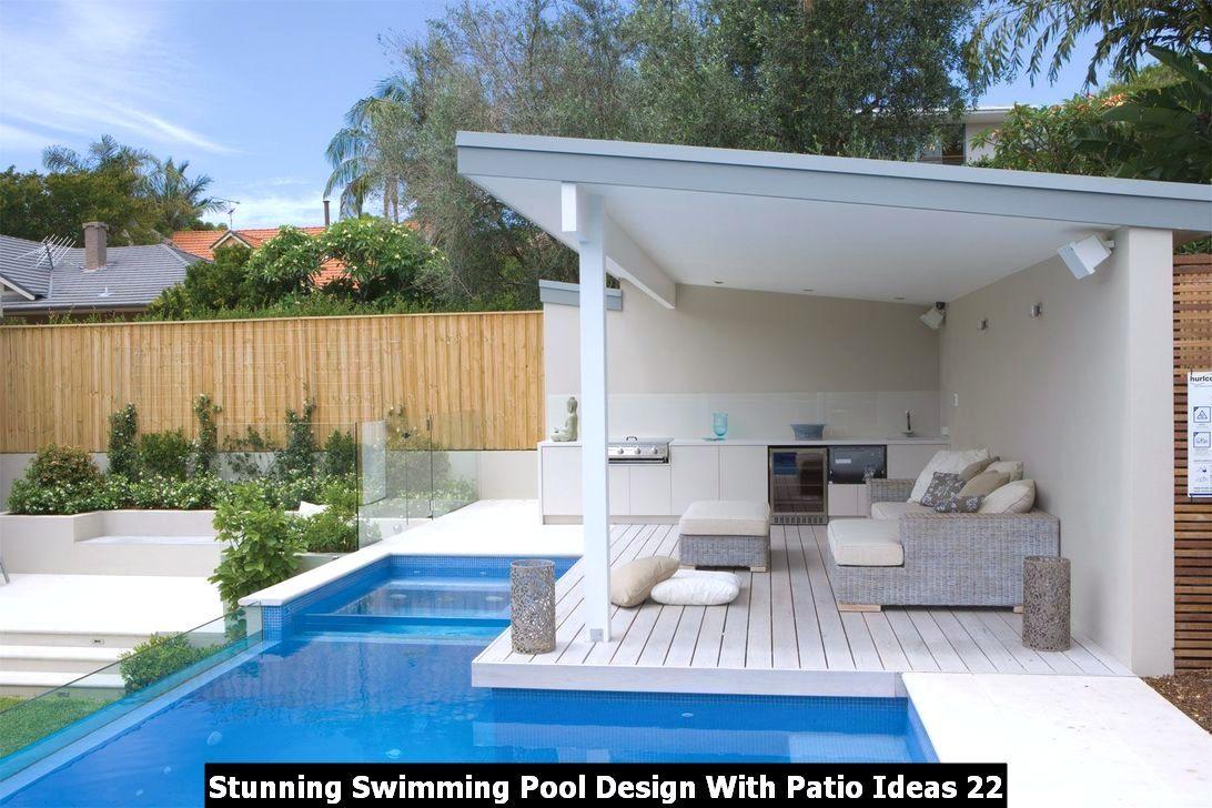 Stunning Swimming Pool Design With Patio Ideas Pimphomee Small Pools Backyard Pool Houses Pool Gazebo