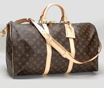 Louis Vuitton Monogram Canvas Duffel Bag
