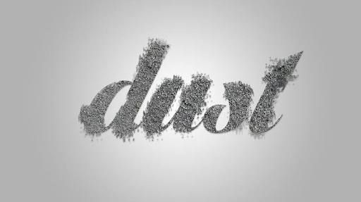 typography dust - Google Search