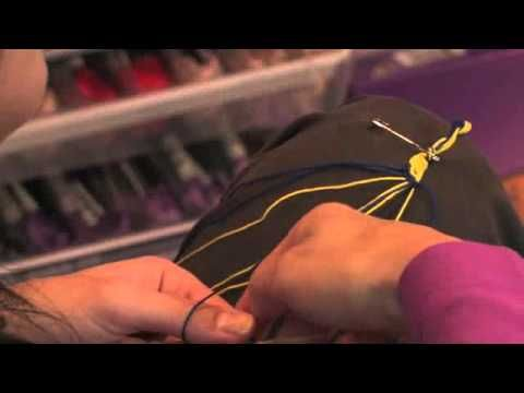 "Kristin's ""How to Make a Simple Friendship Bracelet"" video"