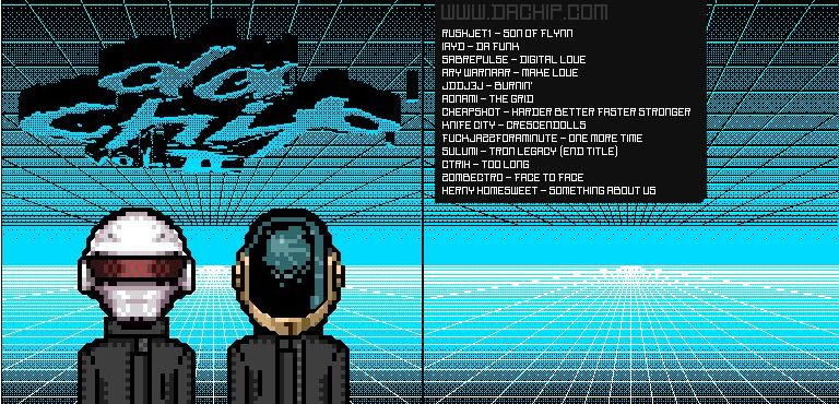 Daft Punk in 8-bit..  this is raw